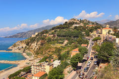 Ventimiglia aerial view. Royalty Free Stock Photo