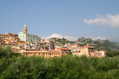 Ventimiglia Alta. Royalty Free Stock Image