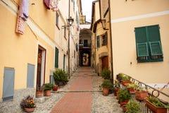 Ventimiglia, Italia Imágenes de archivo libres de regalías