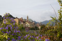 Ventimiglia old town Royalty Free Stock Images