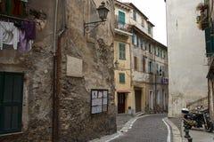 Ventimiglia, Włochy zdjęcia royalty free