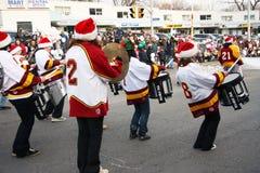 ventinovesimi Parata annuale di Weston il Babbo Natale Fotografia Stock