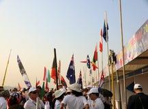 ventinovesimo festival internazionale 2018 dell'aquilone - l'India Fotografie Stock