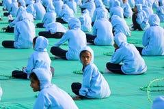 ventinovesimo festival internazionale 2018 dell'aquilone - l'India Fotografia Stock