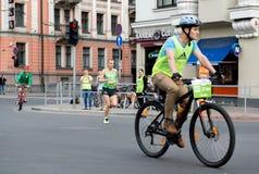ventiquattresima maratona di Nordea Riga Fotografie Stock Libere da Diritti