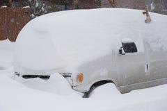 Ventisca del invierno Fotos de archivo libres de regalías