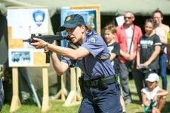ventiseiesimo anniversario delle forze armate croate Fotografia Stock Libera da Diritti