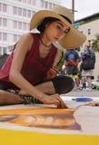 ventiseiesimo festival annuale del gesso di Pasadena Immagine Stock Libera da Diritti