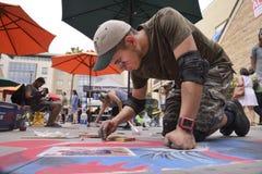 ventiseiesimo festival annuale del gesso di Pasadena Fotografia Stock