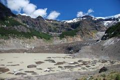 Ventisquero Negro glacier Stock Image