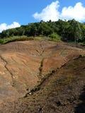 Ventitre terre colorate Fotografia Stock Libera da Diritti
