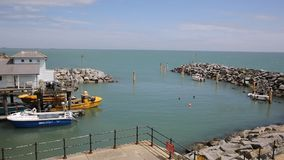 Ventnor harbour Isle of Wight PAN Stock Photography