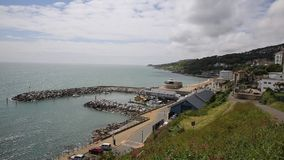 Ventnor harbour Isle of Wight Stock Images