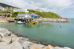 Ventnor harbour Isle of Wight south coast of the island tourist town Stock Photography
