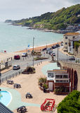 Ventnor Isle of Wight south coast of the island tourist town Stock Photography
