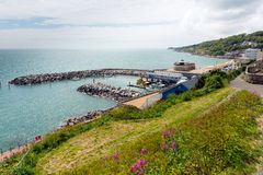 Ventnor Isle of Wight south coast of the island tourist town Stock Images