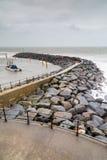 Ventnor op het Eiland Wight Engeland het UK stock foto
