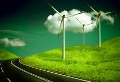 Vento ambientale Fotografie Stock Libere da Diritti