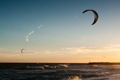 Vento & ondas 3 Fotografia de Stock