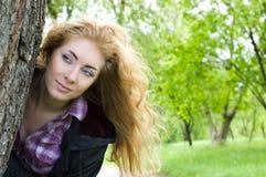 Vento in capelli Immagine Stock Libera da Diritti
