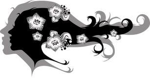 Vento dei fiori Fotografie Stock