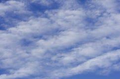 Vento delle nuvole fotografie stock