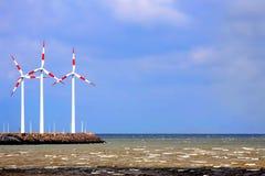 Vento di energia pulita Fotografia Stock