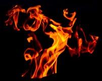 Vento do incêndio fotografia de stock royalty free