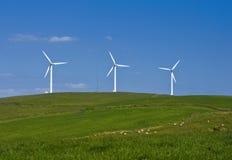 Vento Energie Fotografia de Stock