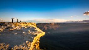 Vento perigoso em Lincoln Rock Lookout foto de stock royalty free