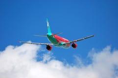 Vento Rose Aviation Airbus A320 Imagem de Stock Royalty Free