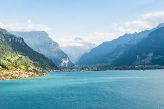 Vento sul lago Lucerna Fotografie Stock