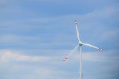 Vento-turbina Imagem de Stock