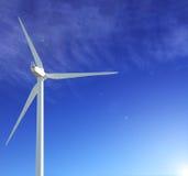 Vento-turbina Fotografie Stock