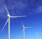 Vento-turbina Fotografia Stock Libera da Diritti