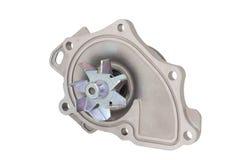 Ventola di raffreddamento del motore della pompa idraulica isolata Fotografie Stock
