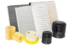 Ventola di raffreddamento del motore della pompa idraulica su un bianco Fotografie Stock