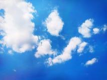 Ventoso y el cielo azul fotografía de archivo libre de regalías