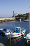 Ventotene harbor Stock Image