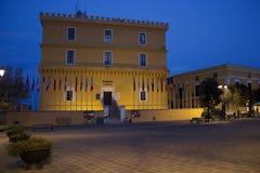 Ventotene-Schloss Stockbild