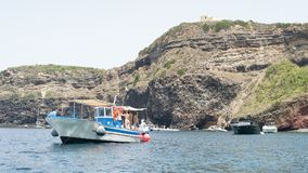 Ventotene sea royalty free stock photos