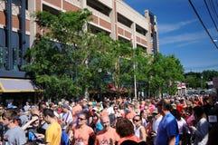 ventottesima corsa di strada ad ovest annuale di Hartford 5K Fotografia Stock Libera da Diritti