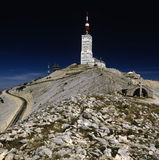 Ventoux. France provence the view from the top of mont ventoux Stock Photos