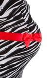 Ventre de femme enceinte Images libres de droits