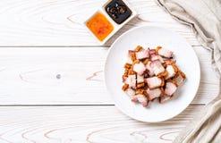 Ventre de porc croustillant photo stock