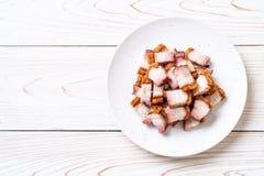 Ventre de porc croustillant image stock