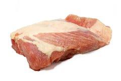 Ventre de porc cru Images libres de droits