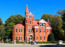 Ventress Hall bei Ole Miss University, Oxford Mississippi lizenzfreies stockfoto