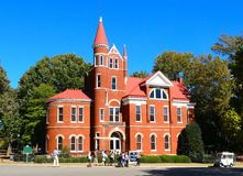 Ventress Hall at Ole Miss University, Oxford Mississippi Royalty Free Stock Photo