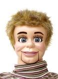 ventriloquist 3 кукол стоковые фото